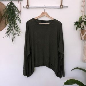 Mossimo olive green knit size XL